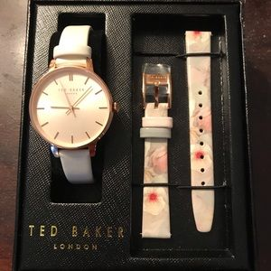 NWT Ted Baker watch with interchangeable bands